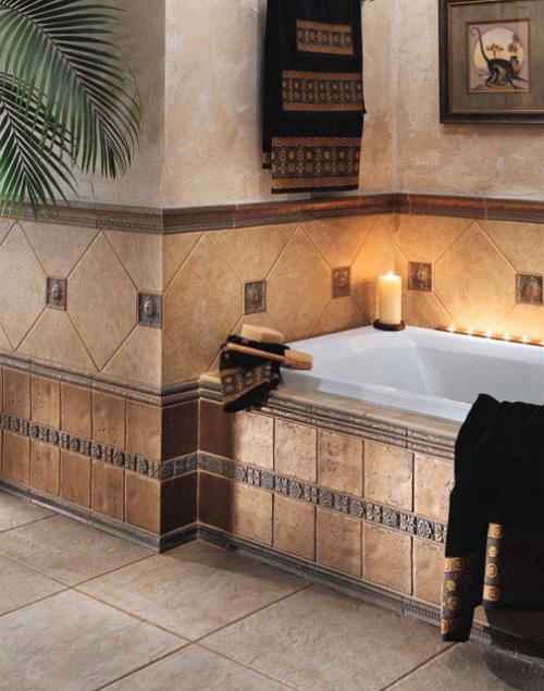 tile bathroom floor ideas photo - 1