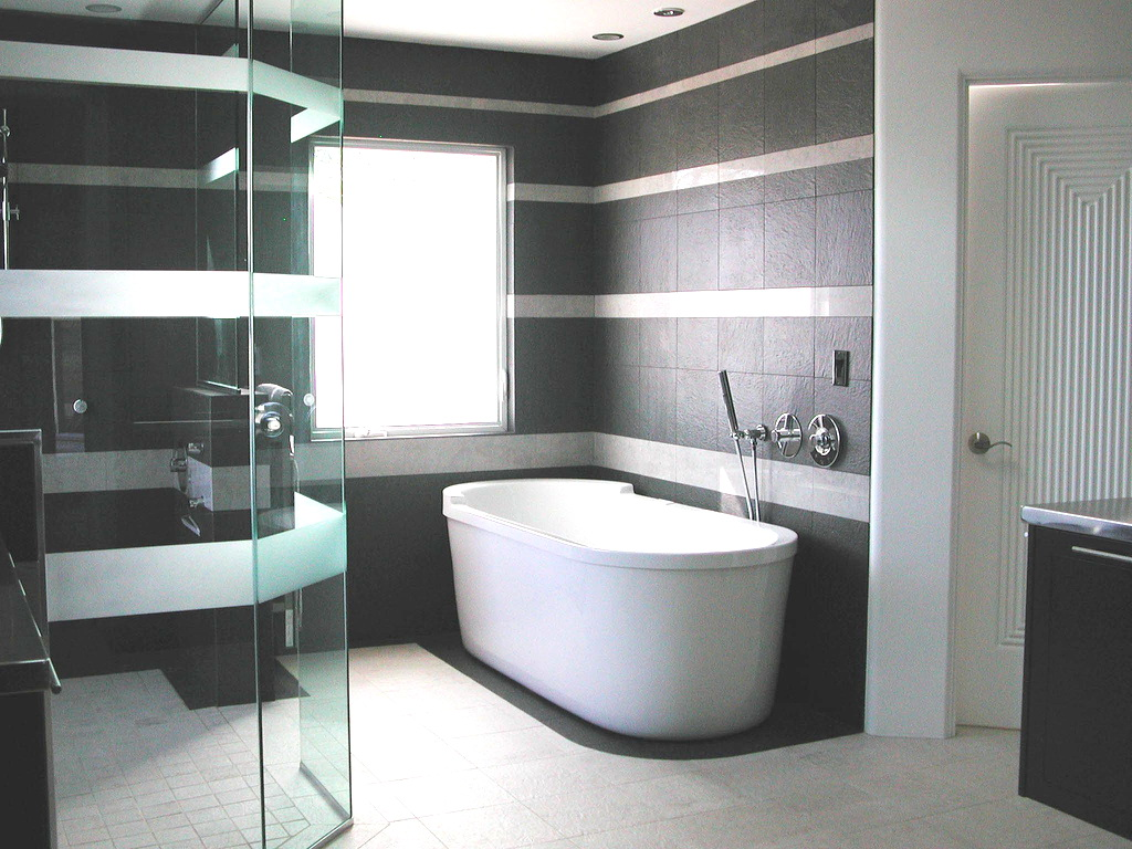 Tiled bathrooms ideas - large and beautiful photos. Photo to select ...