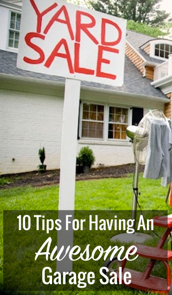 tips for garage sale photo - 2