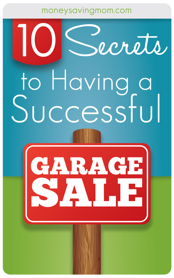 tips for successful garage sale photo - 1