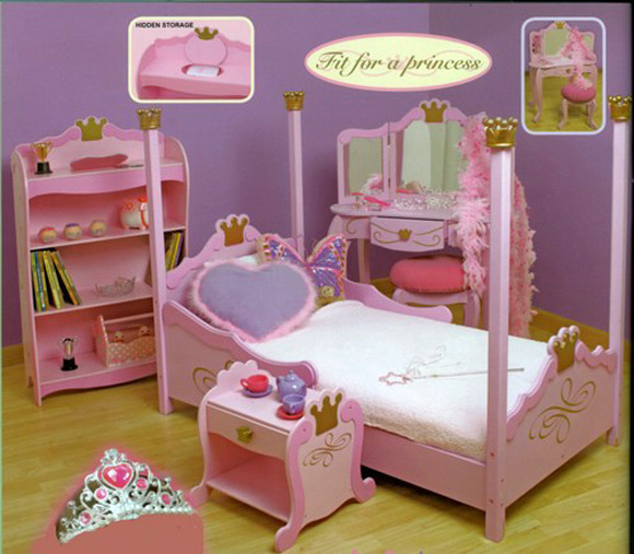 toddler girls bedroom photo - 2