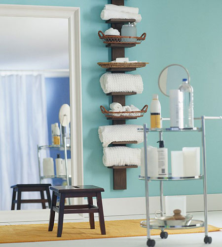 Charmant Towel Storage For Bathroom