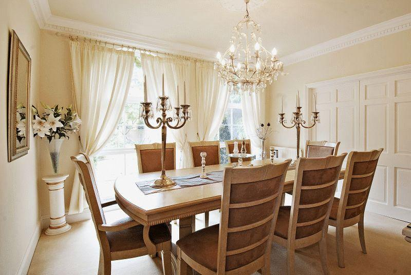 Lovely Traditional Dining Room Chandeliers Photo   1