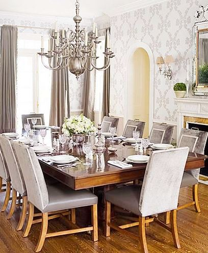 Superb Traditional Dining Room Chandeliers Photo   2
