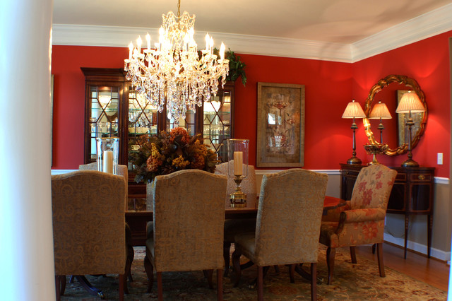 traditional dining rooms photo - 1