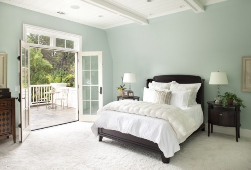 tranquil bedroom colors photo - 2