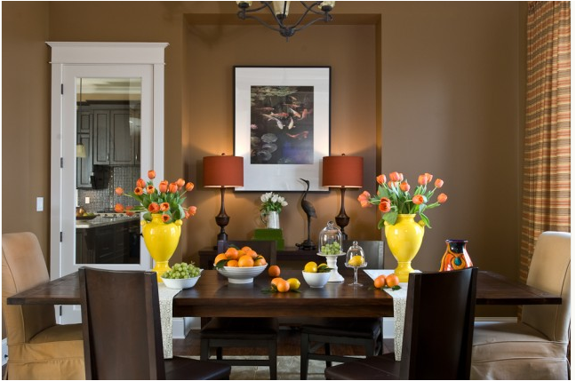 transitional dining room photo - 1