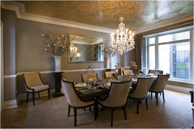 transitional dining room ideas photo - 2
