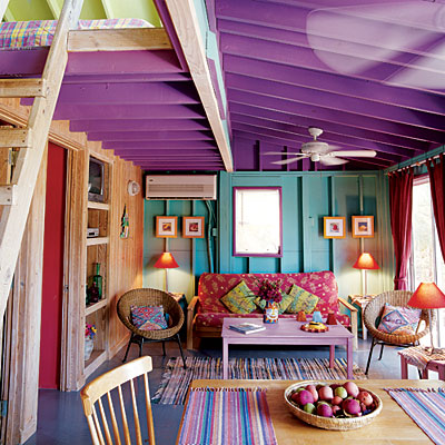 tropical dining room photo - 2
