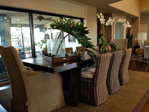 Tropical dining room furniture - large and beautiful photos. Photo ...