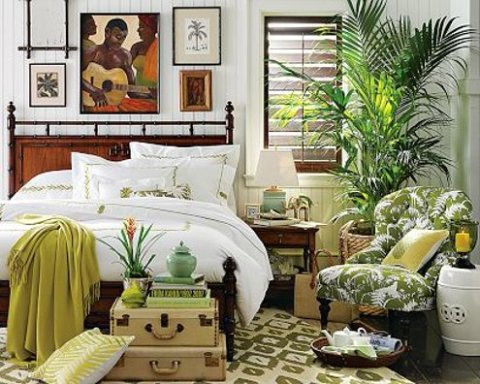 tropical dining room furniture photo - 2