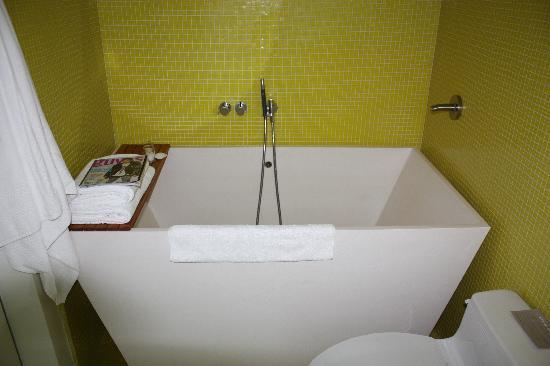 Elegant Japanese Soaking Tubs For Small Bathrooms