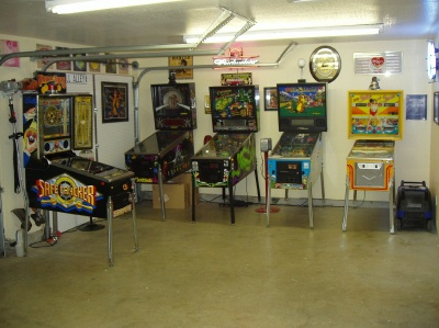 Turn Garage Into Game Room Photo
