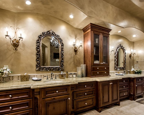 Beau Tuscan Bathroom   Large And Beautiful Photos. Photo To Select Tuscan  Bathroom | Design Your Home