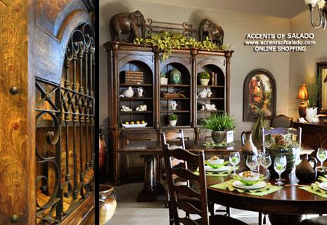 tuscan dining room decor photo - 1
