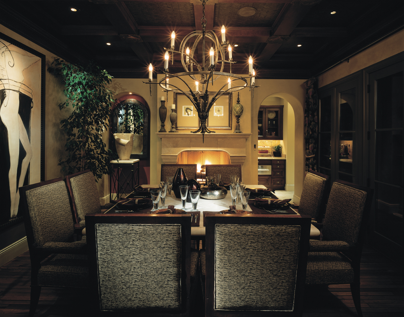 Unique dining room lighting large and beautiful photos for Cool dining rooms