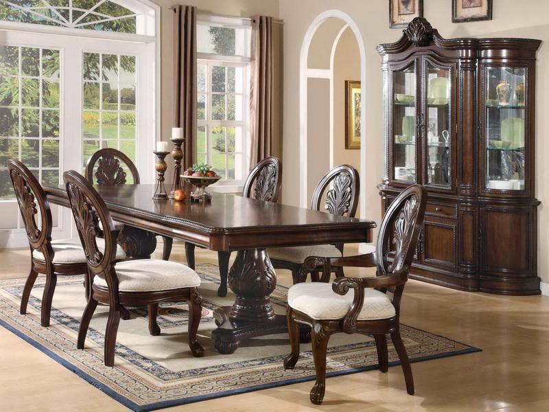 unique dining room sets photo - 1