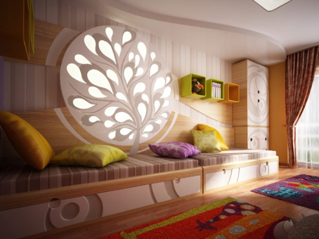 unique kids bedroom photo 2