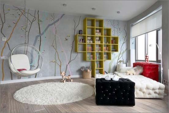 unique teen bedrooms photo - 2