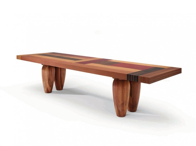 Unique Wood Dining Tables Photo   2