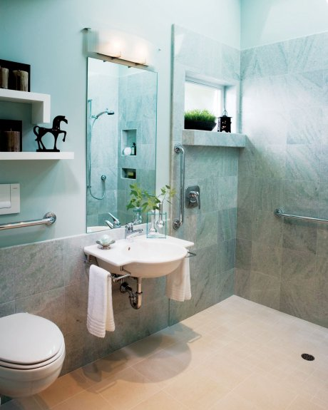 universal design bathrooms