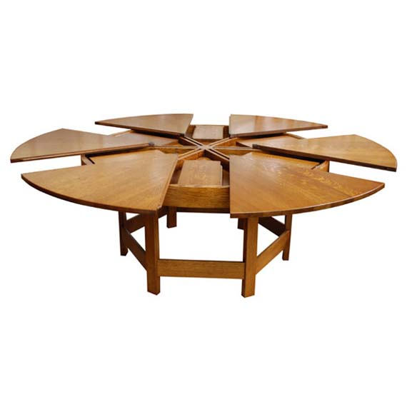 unusual dining room tables photo - 1