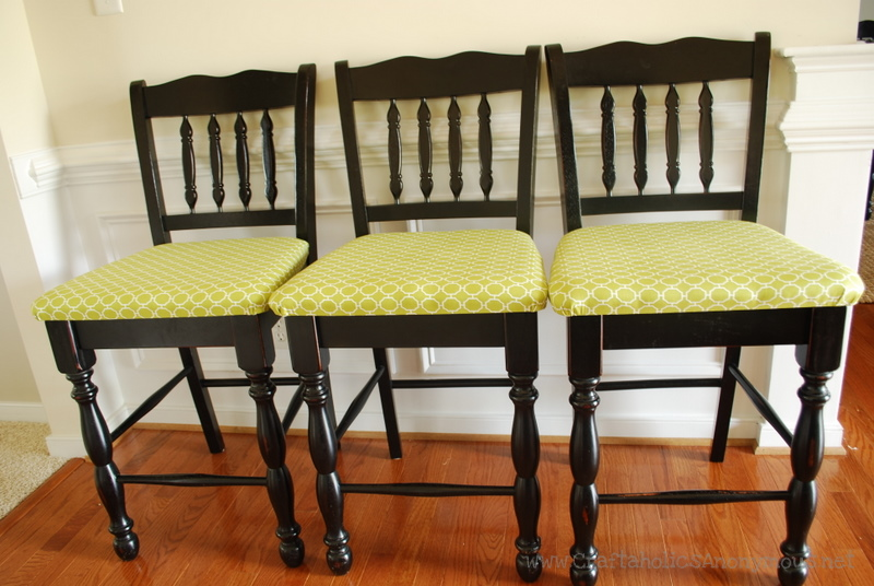 upholster dining room chair photo - 1