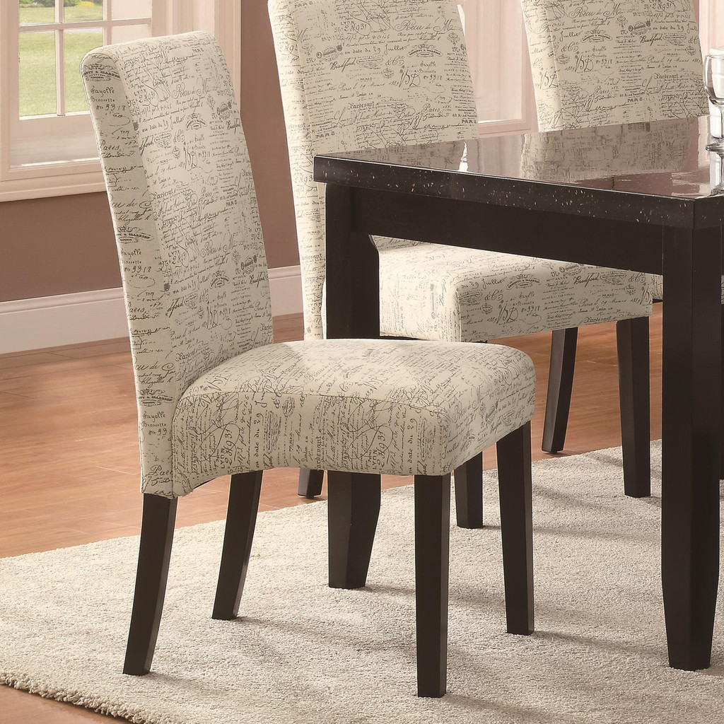 upholstery fabric dining chairs photo - 2