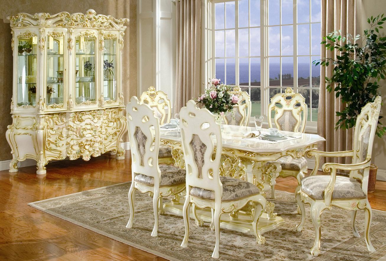 victorian dining room chairs photo - 1