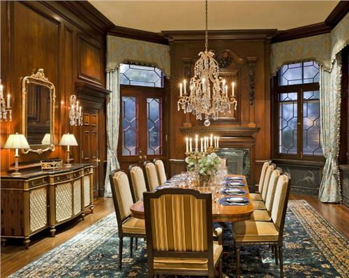 Victorian Dining Rooms