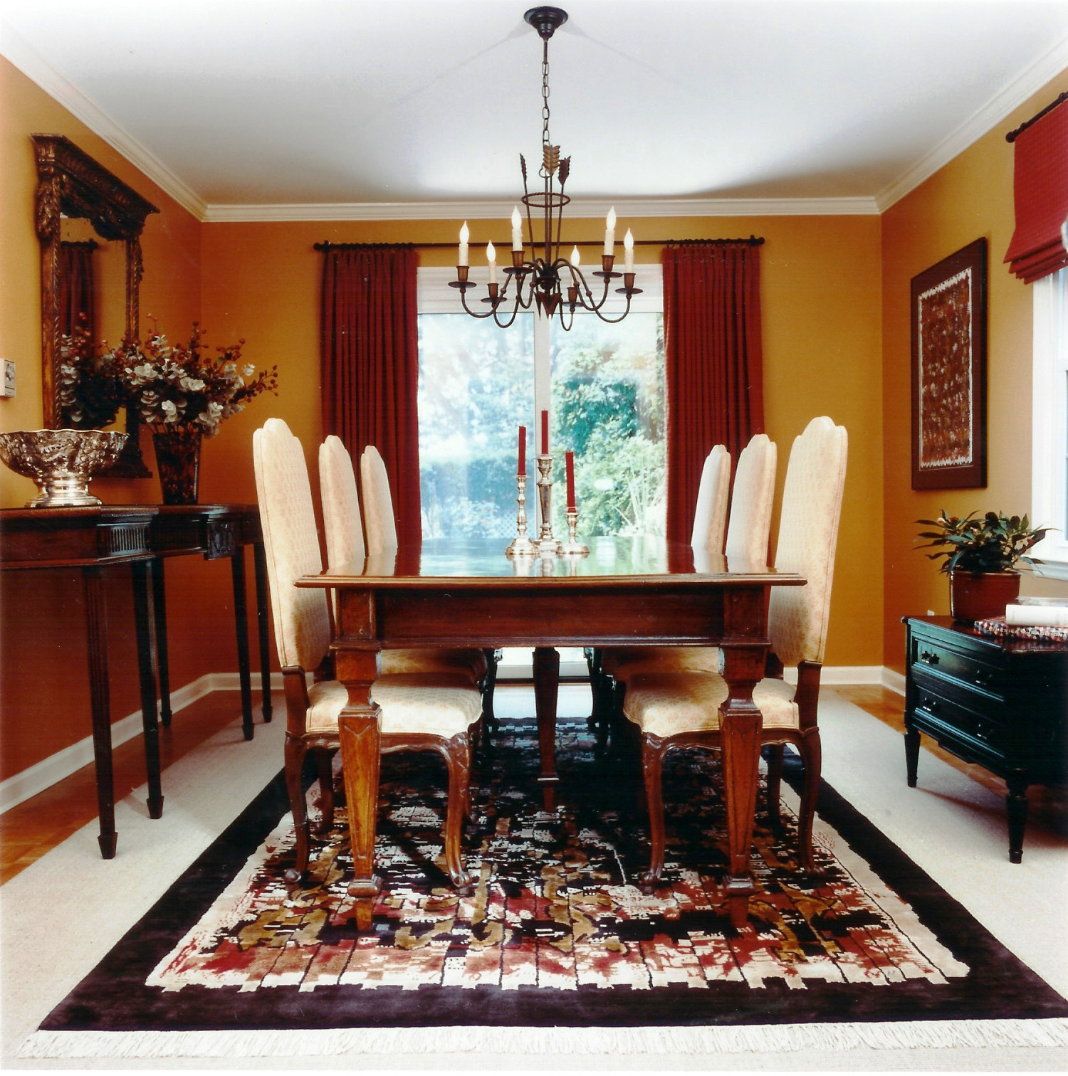 Victorian dining rooms large and beautiful photos to select & Elegant Design Of Victorian Dining Room Set - Best Home Design Ideas ...