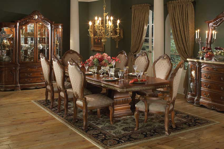 vintage dining room decor photo - 1