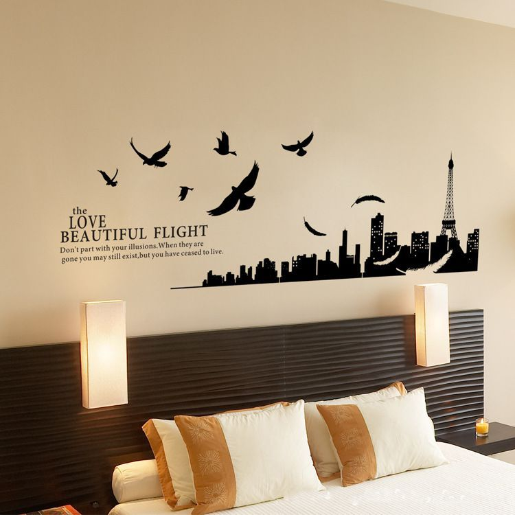 wall art decals for bedroom photo 2