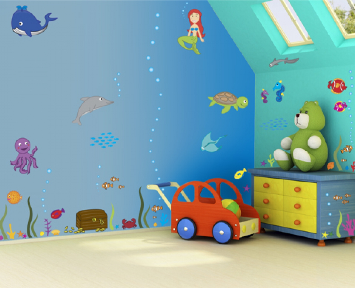 wall art for toddler bedroom photo - 2