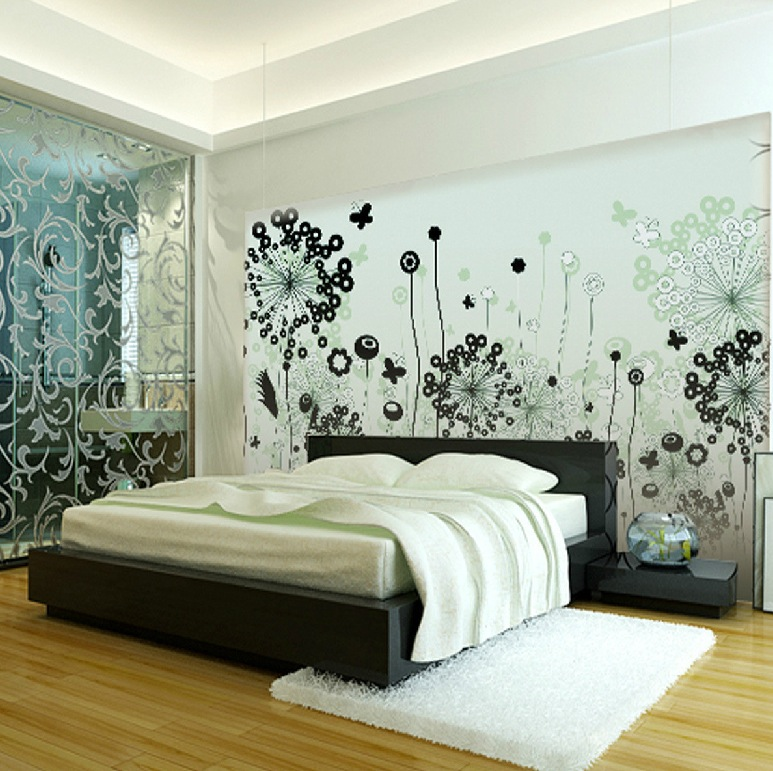 Wall coverings for bedrooms