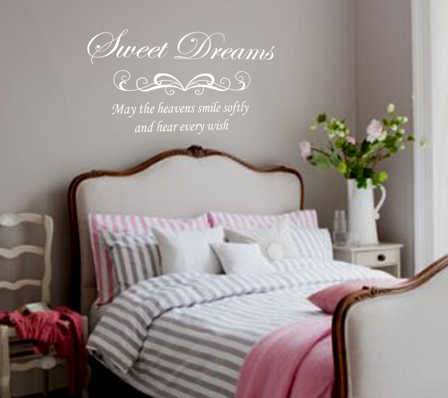 wall decal for bedroom photo - 2