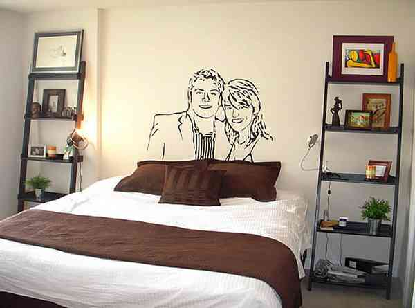 wall decor bedroom photo - 2