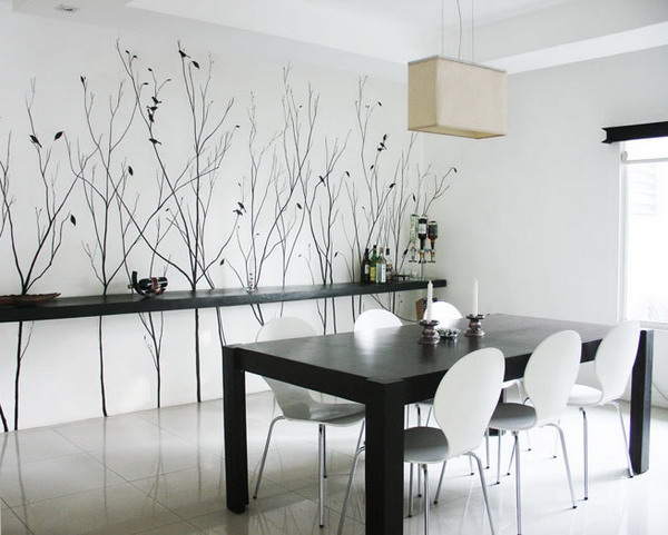 wall decor dining room photo - 1