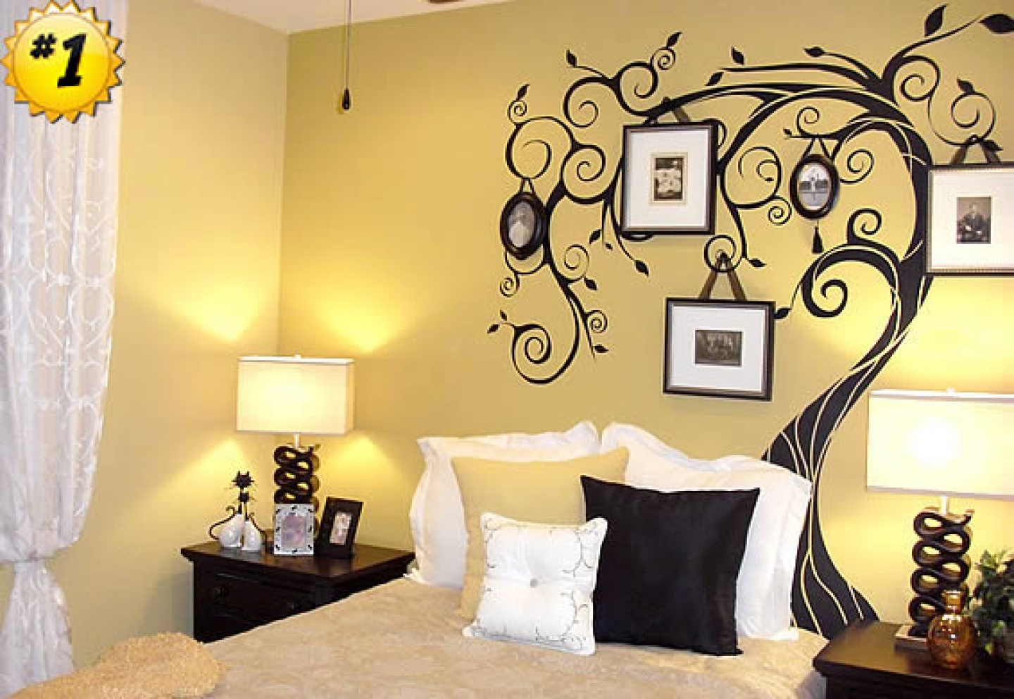 wall decor for bedroom photo - 1