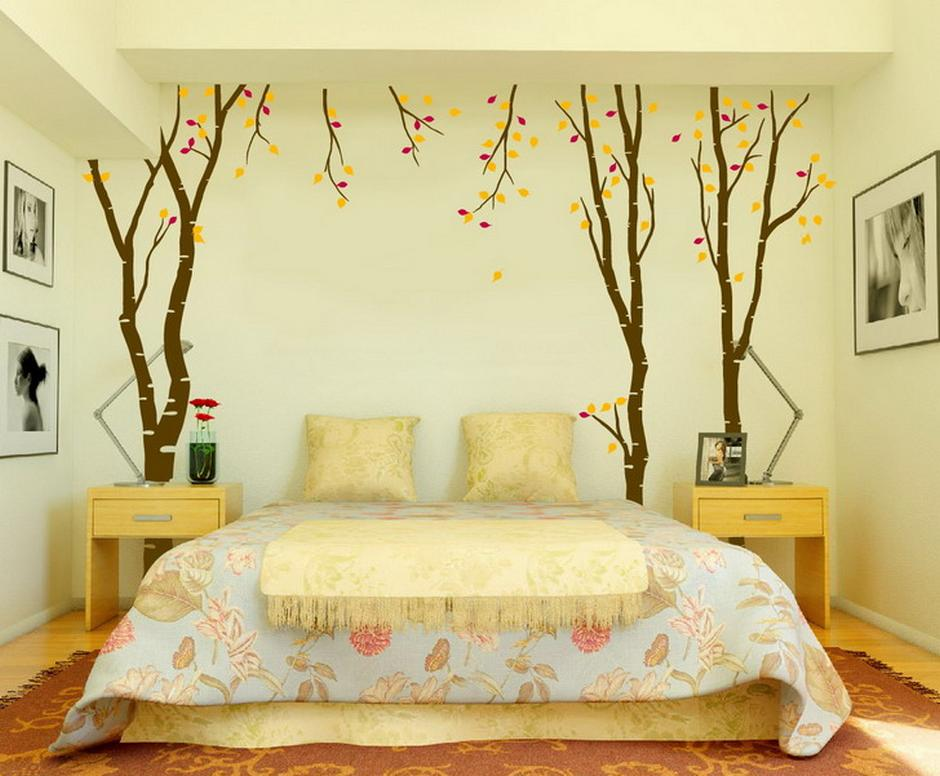 wall decor for bedrooms photo - 1