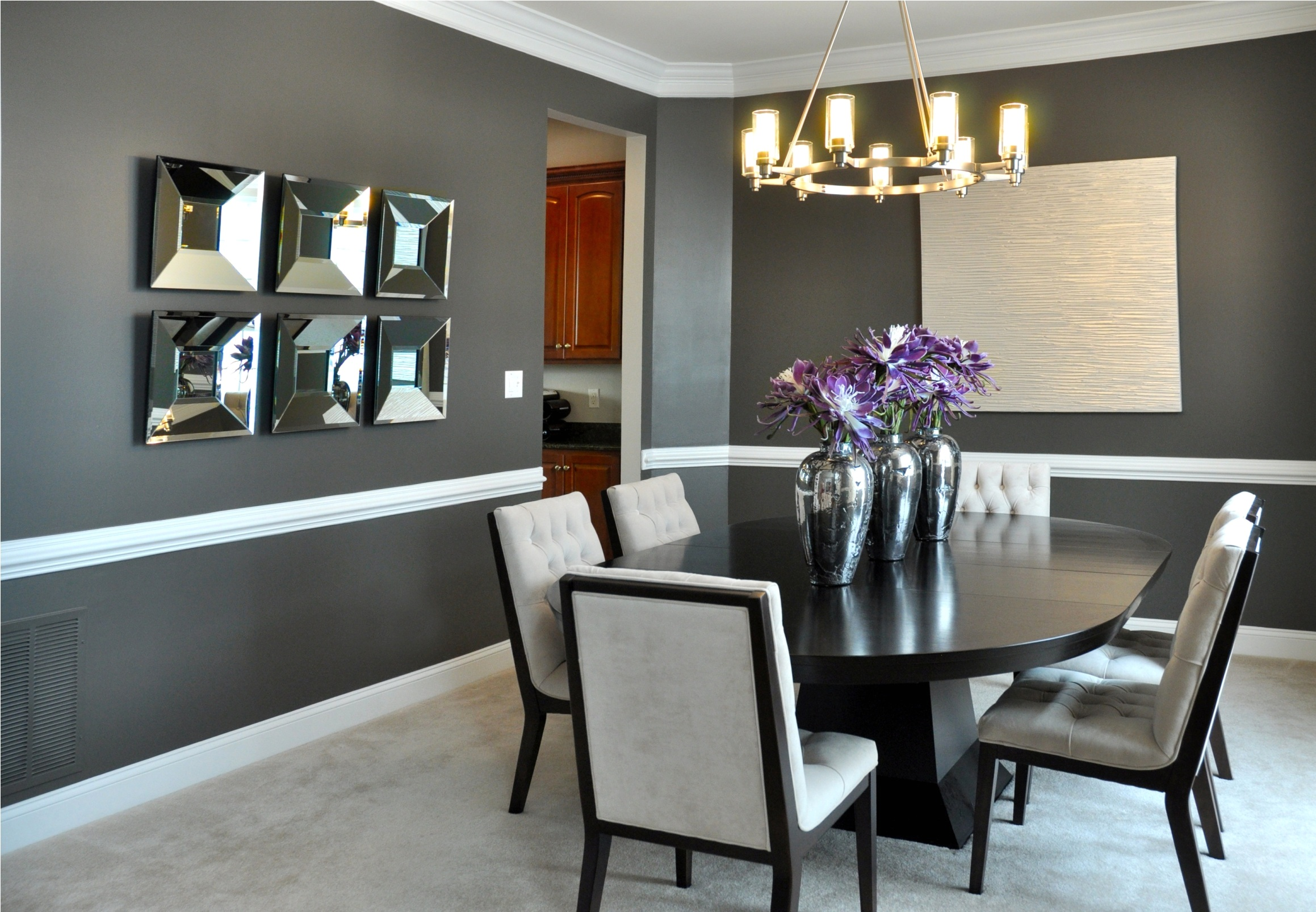 wall decor for dining room photo - 2