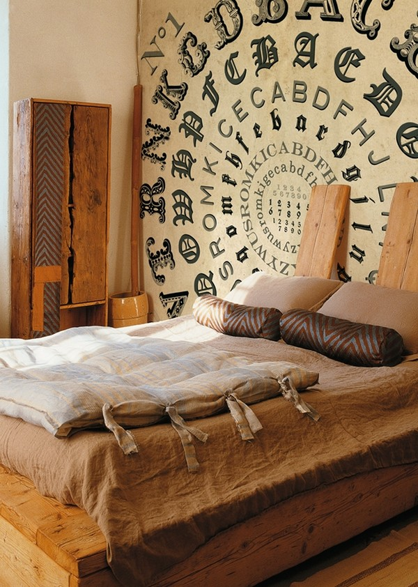 wall decorating ideas for bedrooms photo - 1