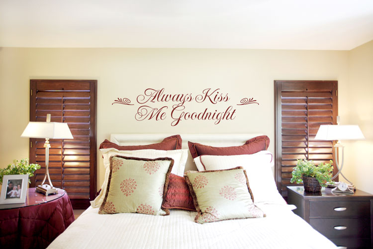 wall decoration for bedroom photo - 1