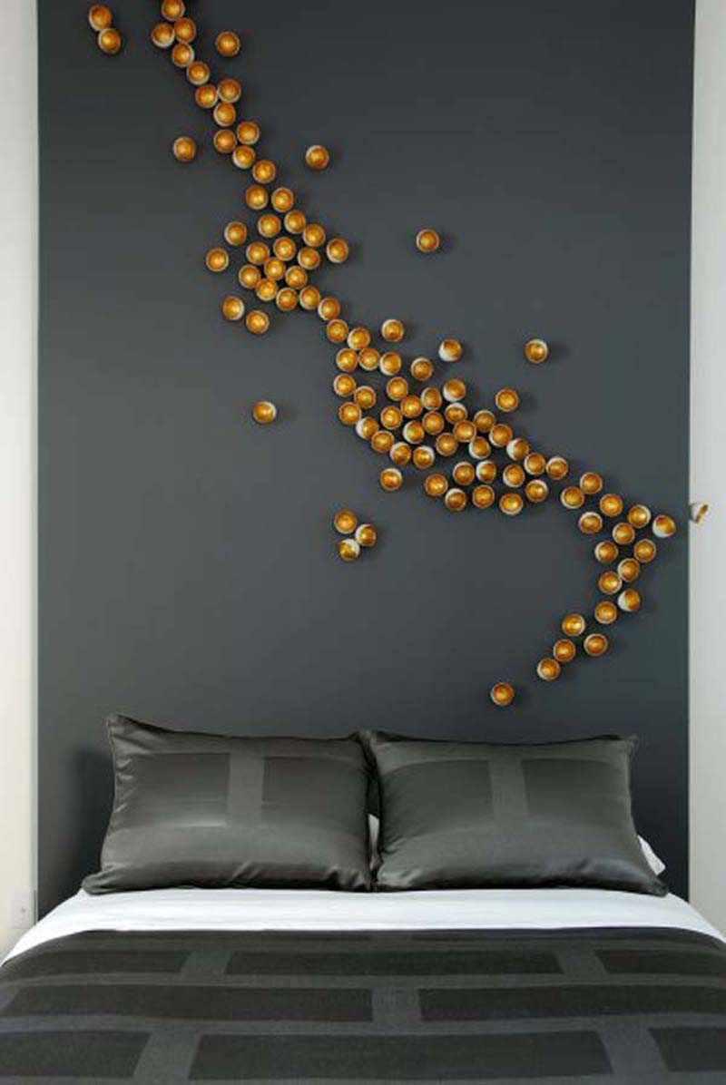 wall decoration ideas for bedrooms photo - 2