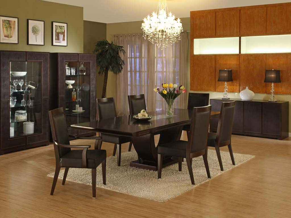 wall ideas for dining room photo - 2