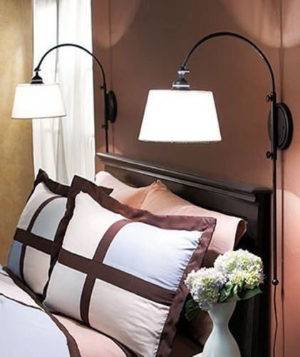 wall mounted lamps for bedroom photo - 1