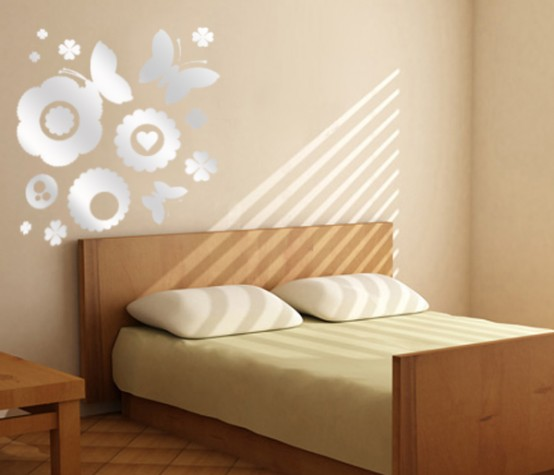 wall paint designs for bedroom photo 2