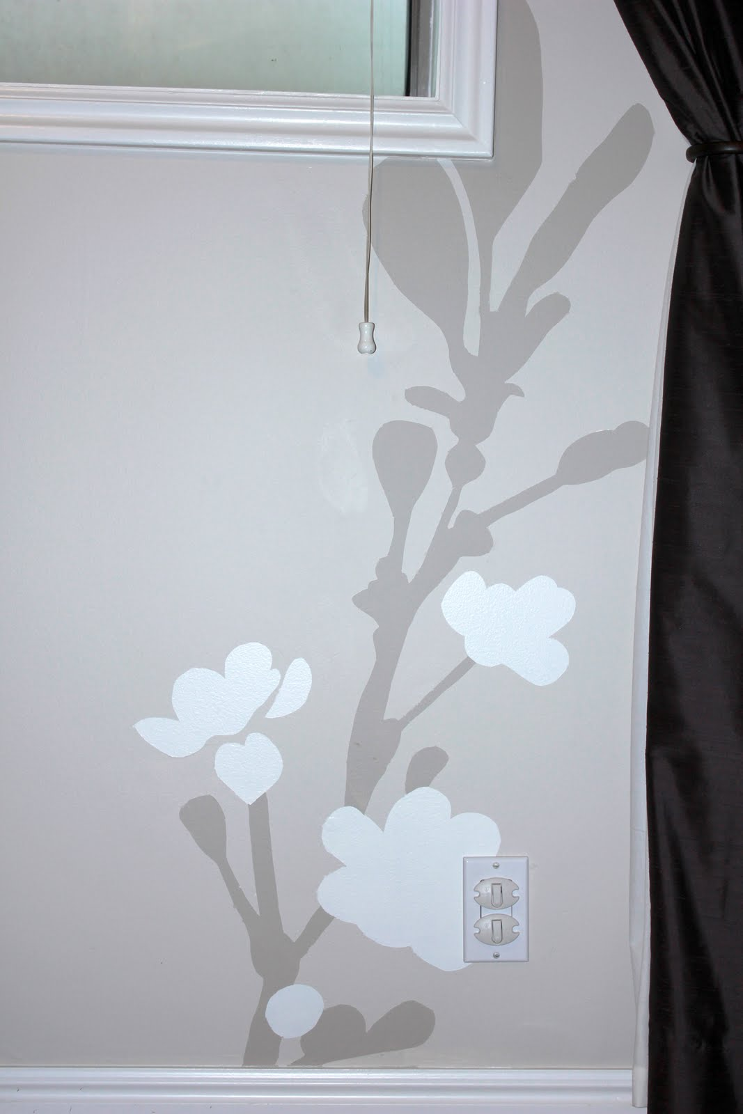 wall painting ideas for bedroom photo - 2