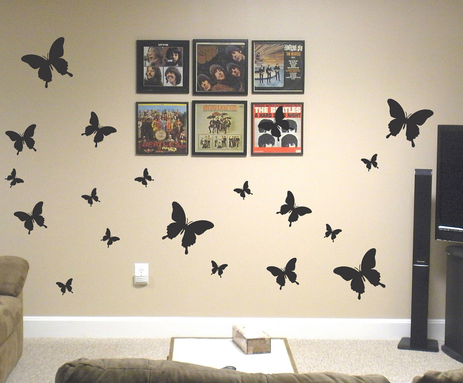 wall paintings for bedrooms photo - 2