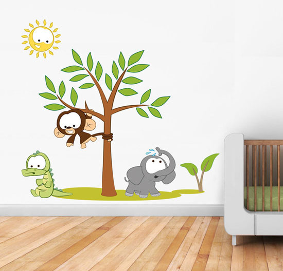 wall stickers for kids bedrooms photo - 2